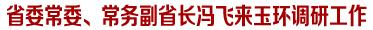 省委常委、常务副省长冯飞来玉环调研交通建设和转型升级