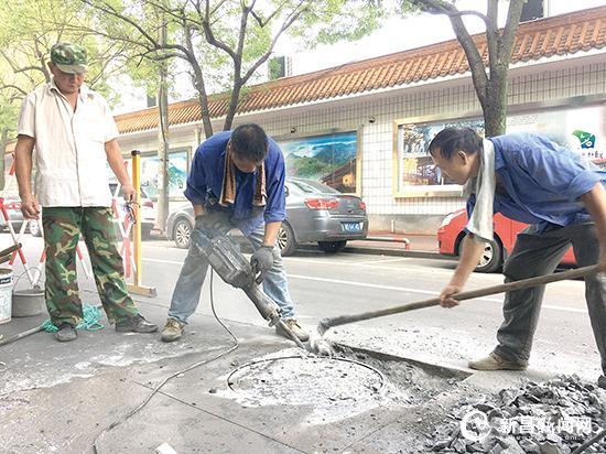城市道路井盖全面升级
