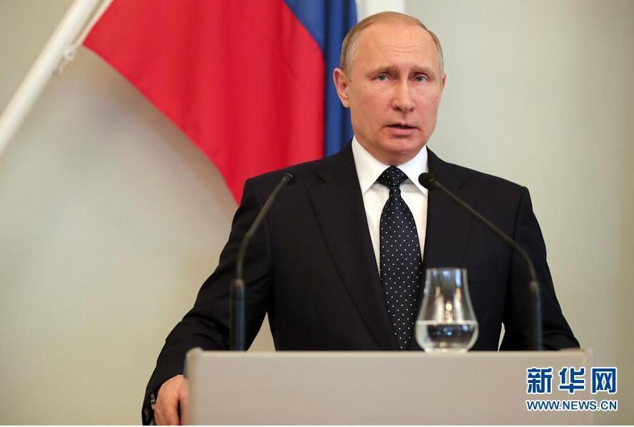 普京:中俄军事合作不针对第三方