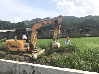 庆元大道五都至余村段辅道工程开工建设