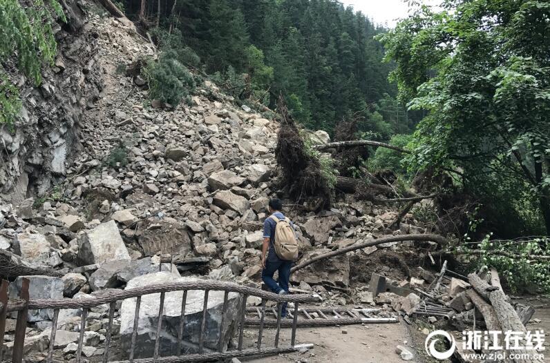 九寨沟核心景区震后探访