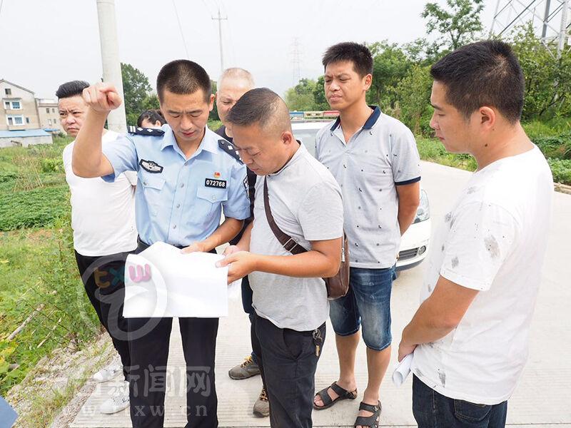 赤城街道开展道路交通安全重点隐患整改工作