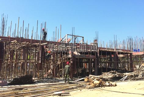 匠人青瓷有限公司年产500万件日用青瓷生产线建设工程正在快速推进