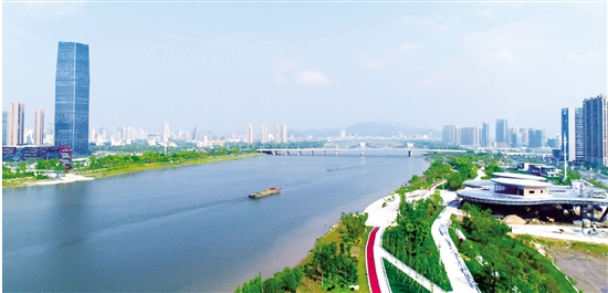 曹娥江畔活力激荡 上虞智谷正在崛起