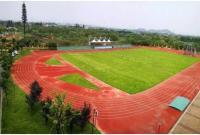 田径两组长投项目——杭州师范大学附属仓前实验中学运动场