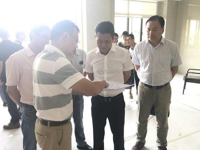 侯富光调研定海区行政服务中心整合工作