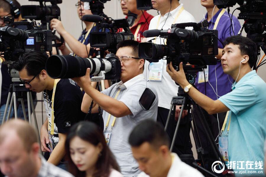 3000名中外记者采访金砖厦门会晤