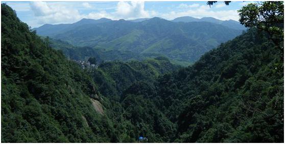 江南风情,山山水水——浙西大峡谷