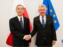 全国政协副主席、和裁会副会长马飚访问波兰