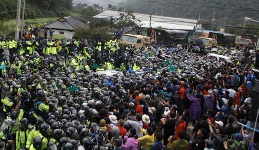 韩民众将前往青瓦台抗议部署萨德