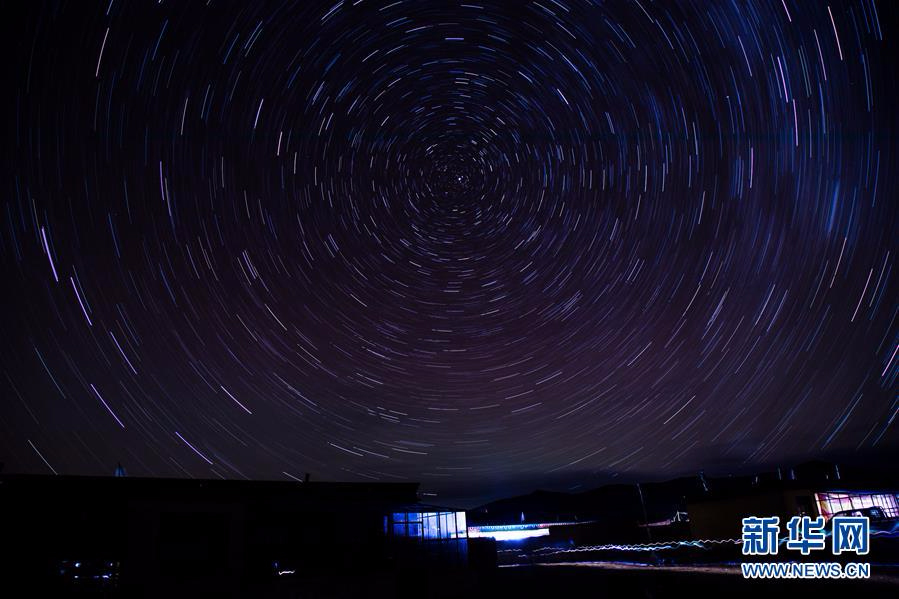 西藏阿里的星空