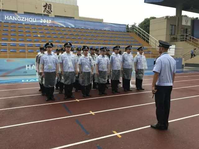 浙江传媒学院安保:学生运动会的坚实后盾