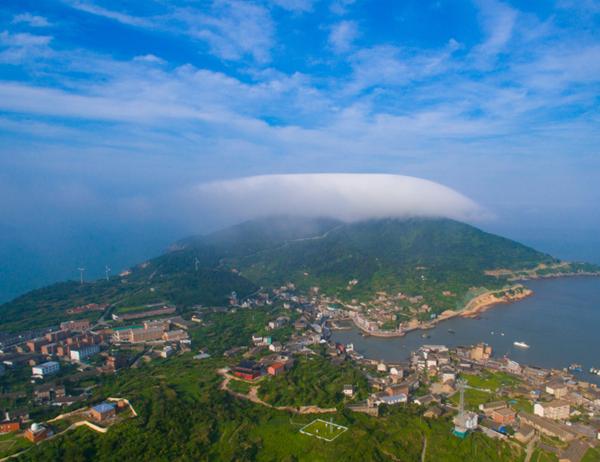 台州:空中漫游大陈岛 VR全景看海岛边疆