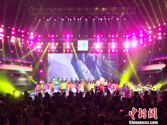 中国新闻网|第十三届全国学生运动会浙江落幕 感恩一线工作者成闭幕式亮点