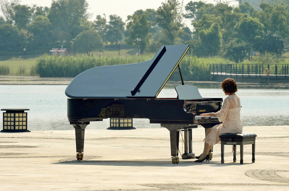 凤凰湖畔 琴音悠扬