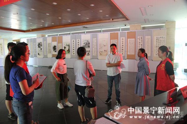 县文广出版局全力迎检省示范文明县城创建