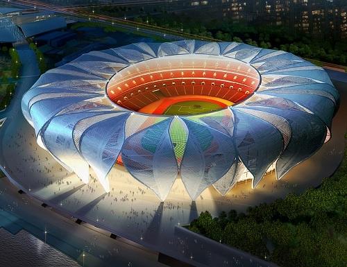 杭州体育馆_体育场,5年后这里即将点亮亚运会开幕式,也将成为杭州的城市运动新