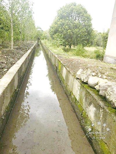 清理淤泥、堆积物 渠道干净整洁了