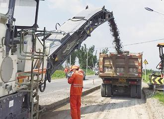 丰永线整治工程黄浦桥段开工