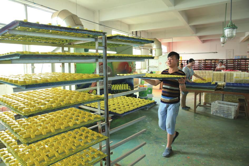 工人在生产车间