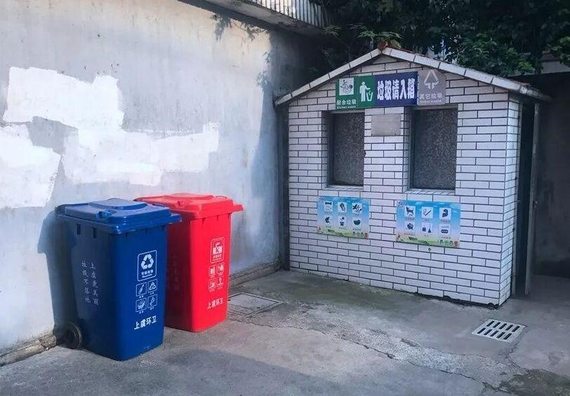 崭新垃圾桶 美观又整洁
