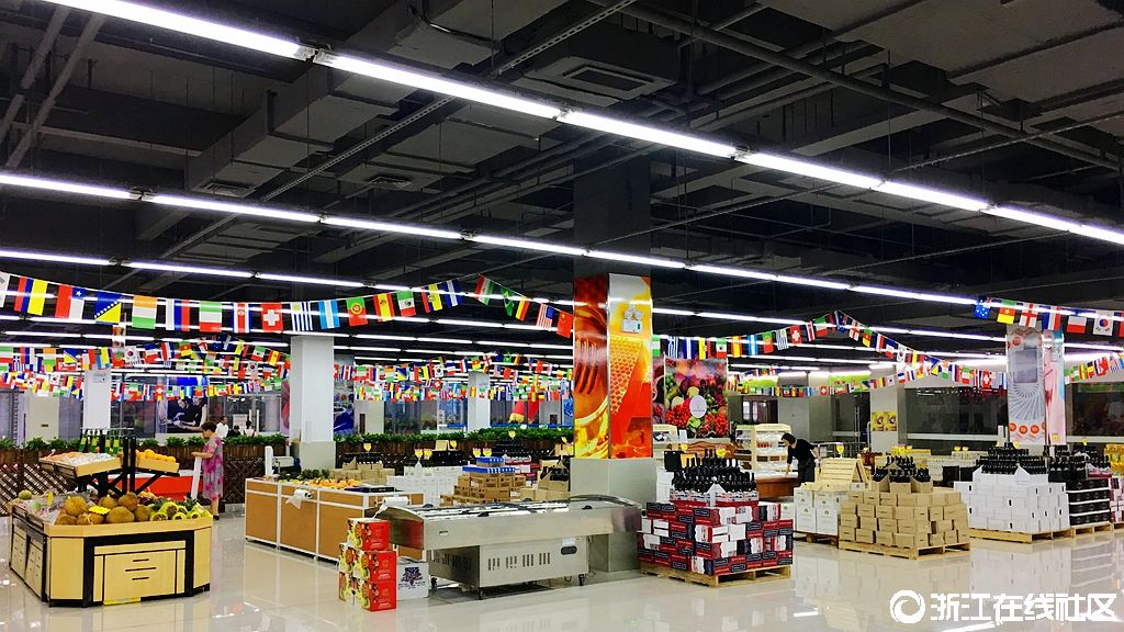 【行行摄摄】宁波保税区进口商品嵊州交易中心