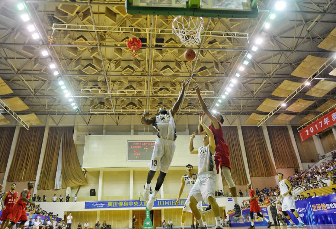 中美篮球PK
