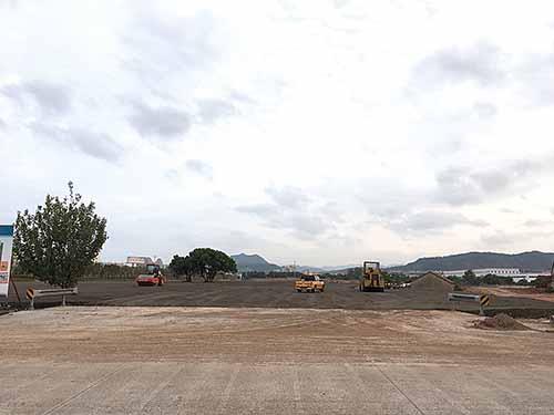 全域旅游接驳停车场工程完成基础建设
