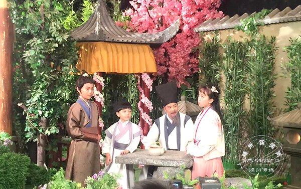 """与景甜演对手戏演霍建华的童年 童星徐王子的""""王子戏路"""""""