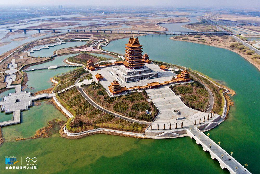 航拍世界灌溉工程遗产:宁夏引黄古灌区