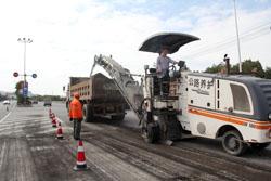 县道大滚线沥青路面修复工程将于本月20日前完工