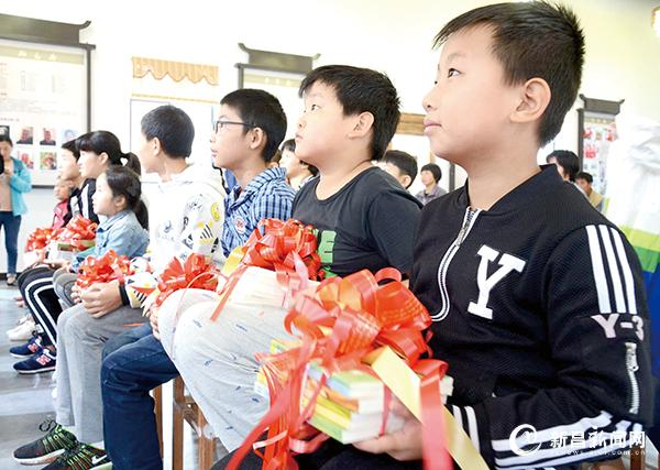 市妇联3000册爱心图书捐赠砩头村