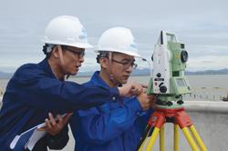 """漩门湾上演一场""""激战"""" 中铁十六局把150多名工程骨干拉到玉环拼技能"""