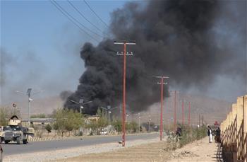 阿富汗东部警察培训中心遭袭致55人伤亡