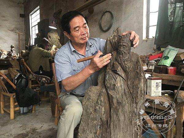 吴筱阳:想雕木,先雕心