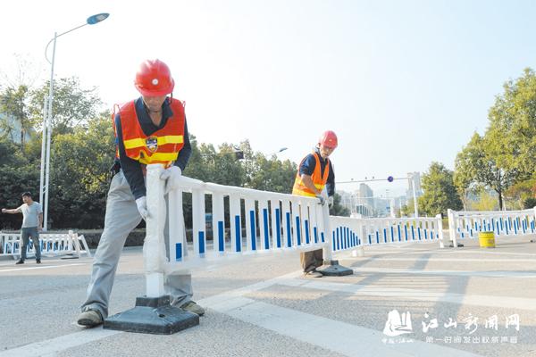 城北大桥将实行单向通行