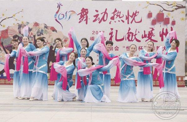 市民运动会排舞大赛举行