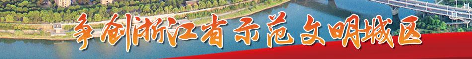 争创浙江省树模文化城区