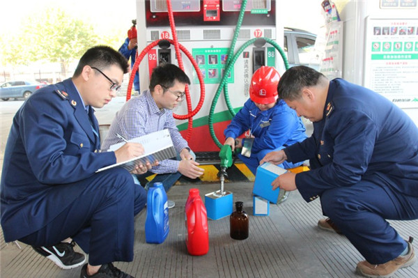 13家加油站油品质量抽检