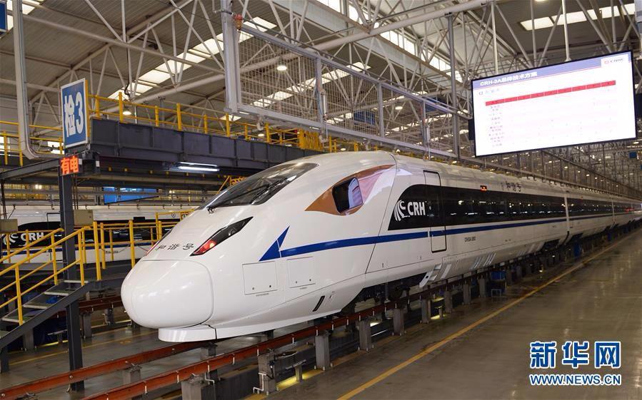 CRH3A型动车组即将亮相西成高铁
