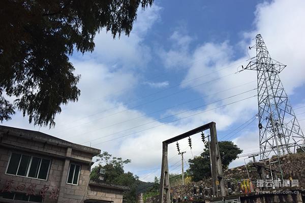 缙云盘溪梯级电站水轮发电机光荣退休
