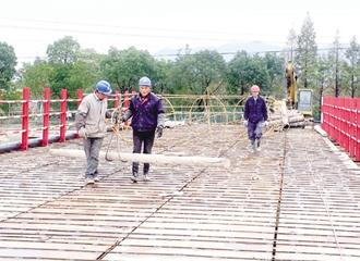 百五线8座桥梁改建启动