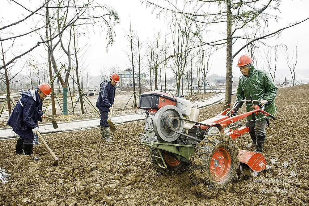累计投资5.5亿 艇湖城市公园项目抢抓施工进度