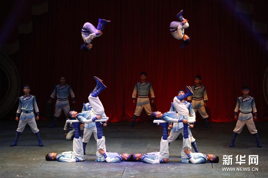中国国际马戏节精彩纷呈图片