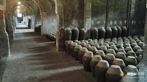 原缙云酒厂老酒窖被授予两项国字号殊荣