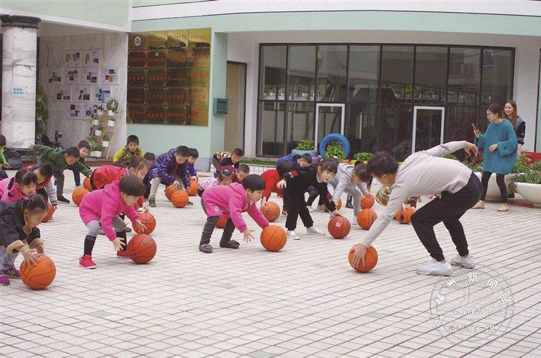 兴趣教学激发篮球幼儿辅导班怎么小学图片