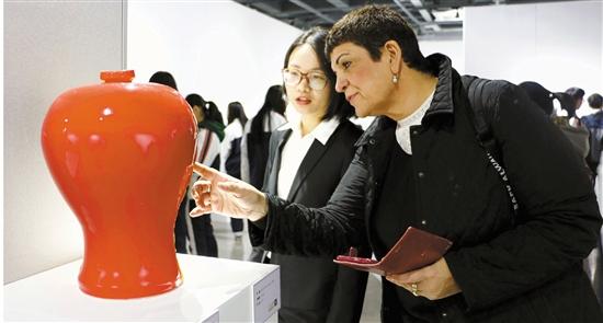 第二届上虞青现代国际陶艺展开展