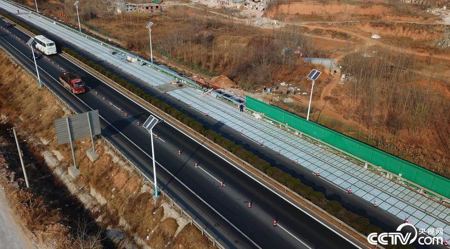 全球首条高速光伏公路现身济南