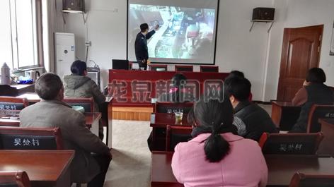 剑池街道吴处村举办消防安全知识培训