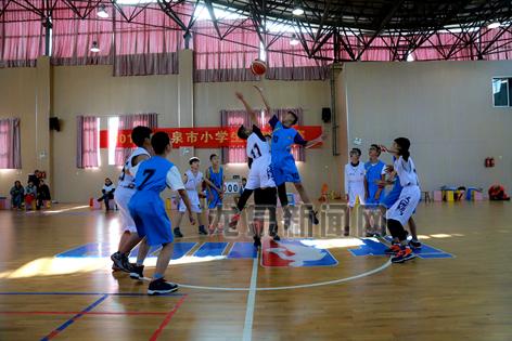 2017年龙泉市小学生篮球比赛落下帷幕